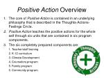positive action overview