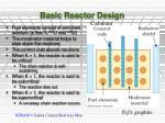 basic reactor design
