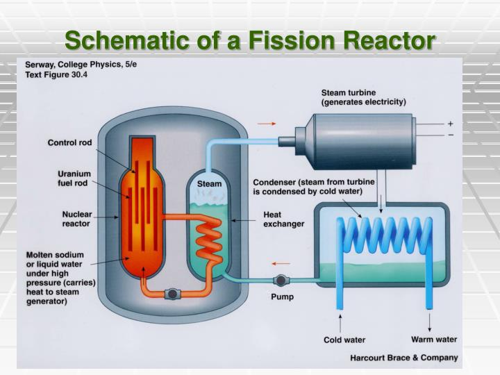 Schematic of a Fission Reactor