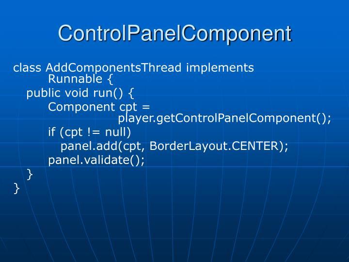 ControlPanelComponent