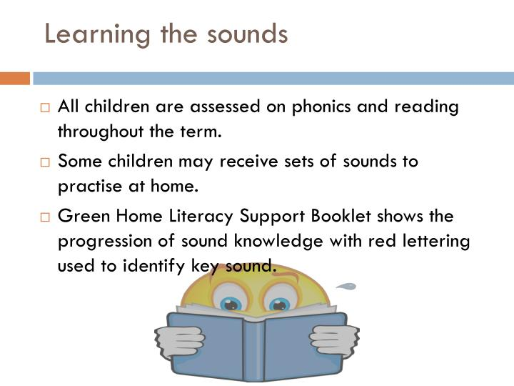 Learning the sounds
