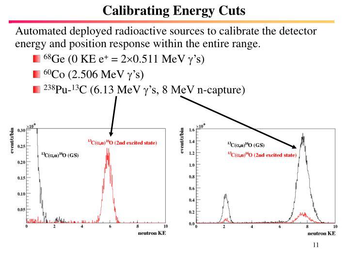 Calibrating Energy Cuts