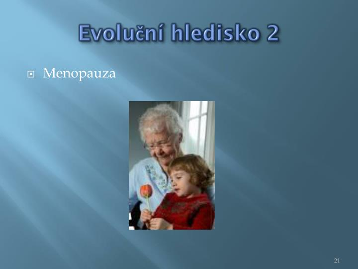 Evoluční hledisko 2