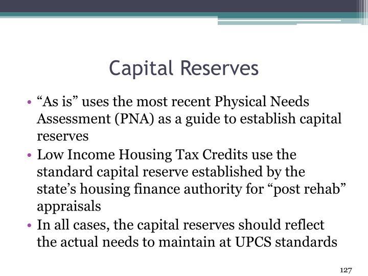Capital Reserves