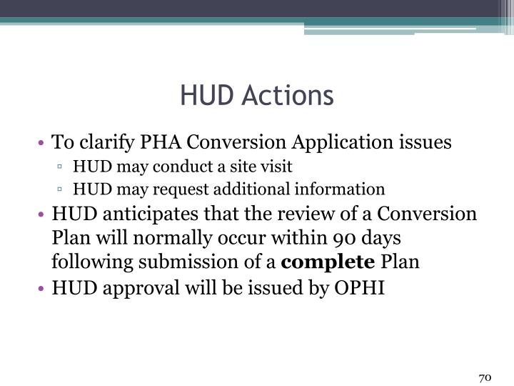 HUD Actions