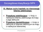 szczeg owa klasyfikacja mpk4
