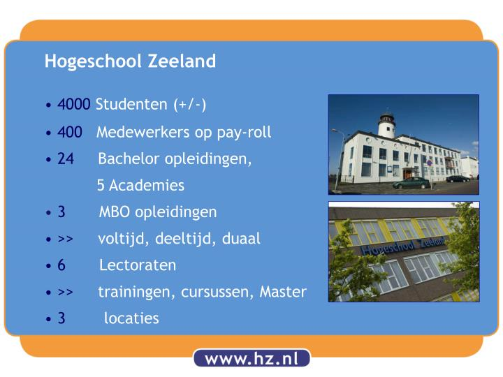 Hogeschool Zeeland