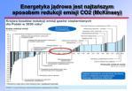 energetyka j drowa jest najta szym sposobem redukcji emisji co2 mckinsey