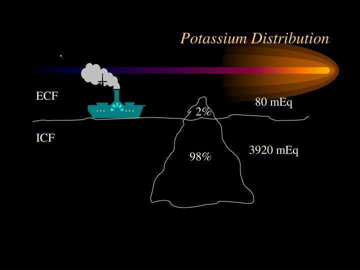 Potassium Distribution