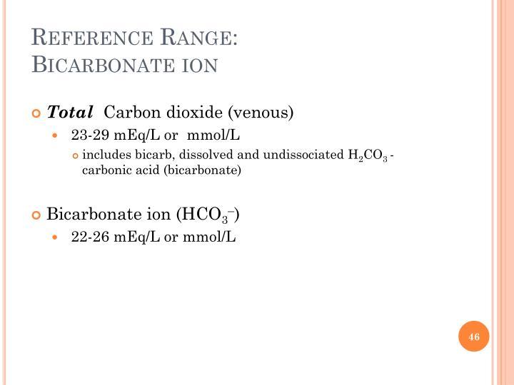 Reference Range: