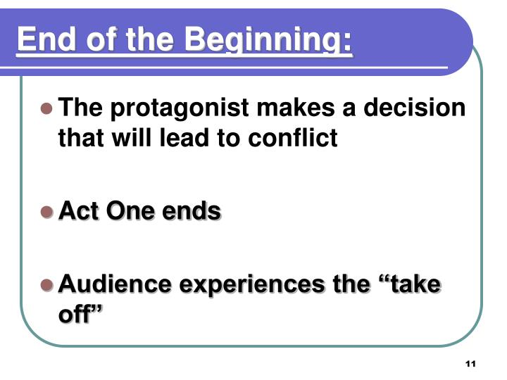 End of the Beginning: