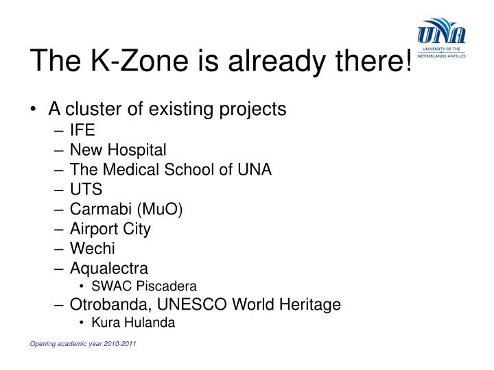 The K-Zone is already there!
