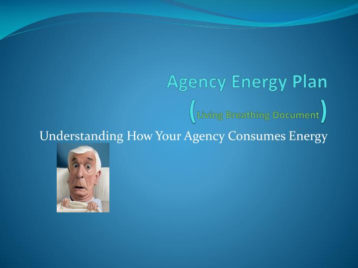 Agency Energy Plan