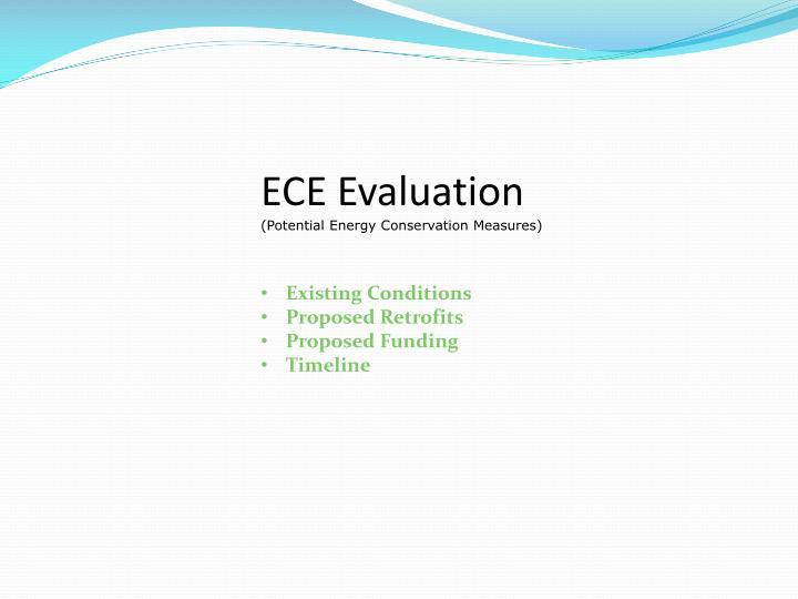 ECE Evaluation