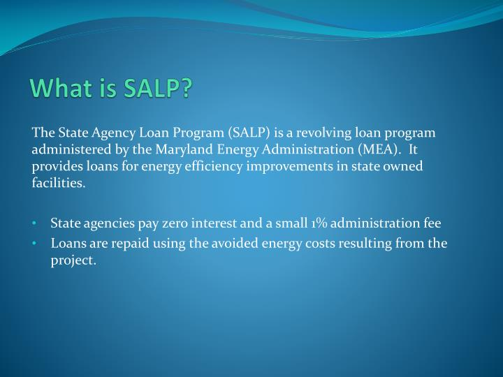 What is SALP?
