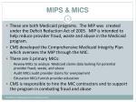 mips mics