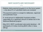 why audits are necessary
