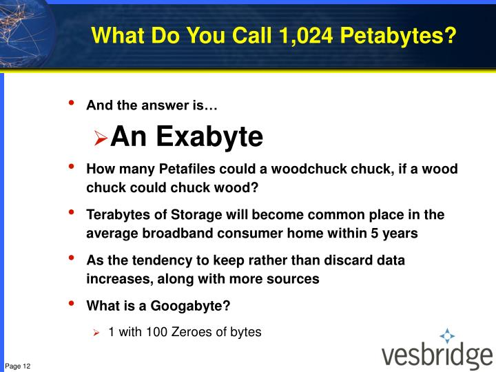 What Do You Call 1,024 Petabytes?