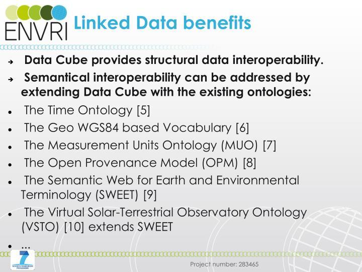 Linked Data benefits