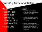 quiz 1 battle of antietam