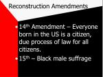 reconstruction amendments1