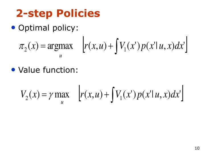 2-step Policies