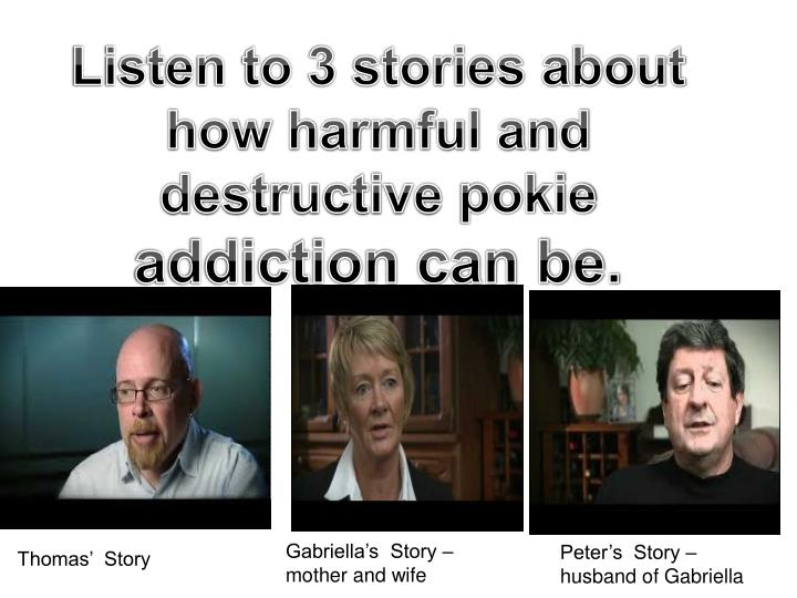 Listen to 3 stories about