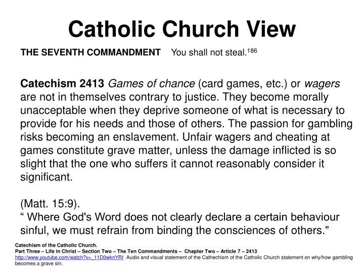 Catholic Church View
