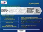 tariff forecasts