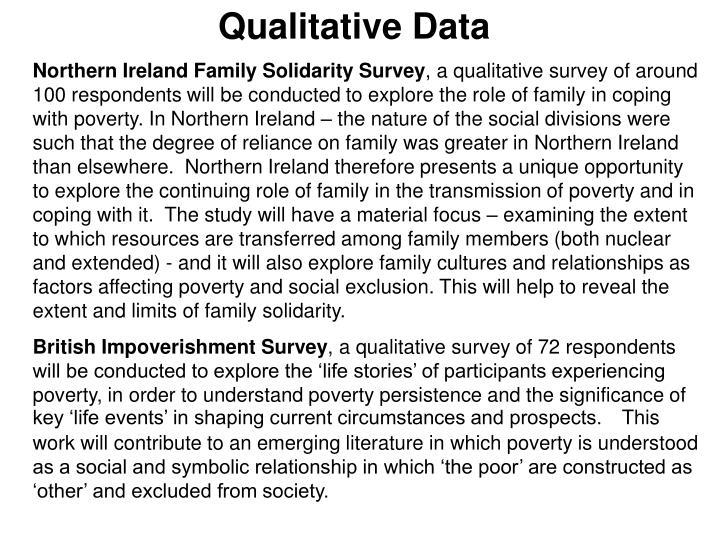 Qualitative Data