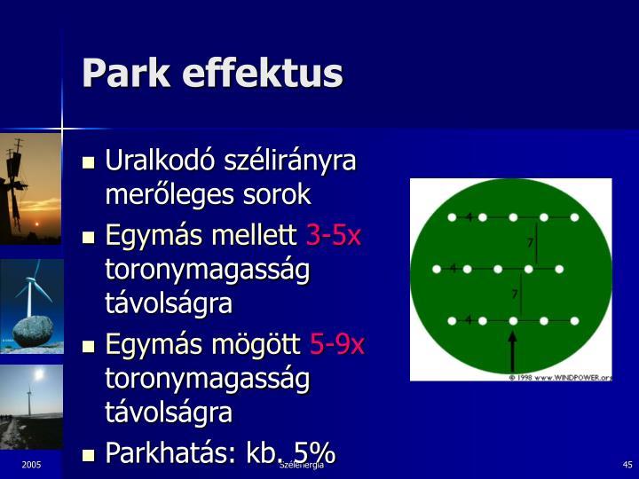 Park effektus