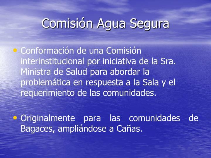 Comisión Agua Segura