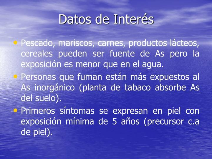 Datos de Interés