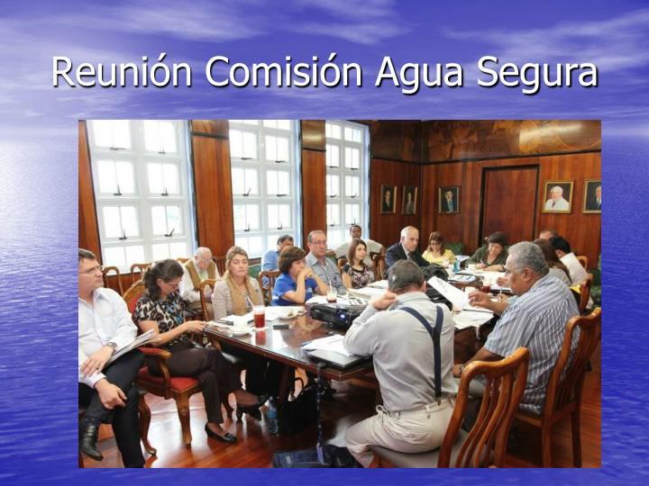 Reunión Comisión Agua Segura