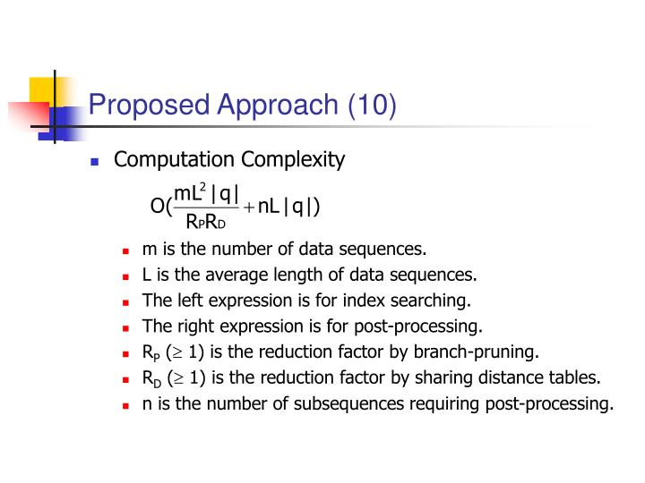 Proposed Approach (10)
