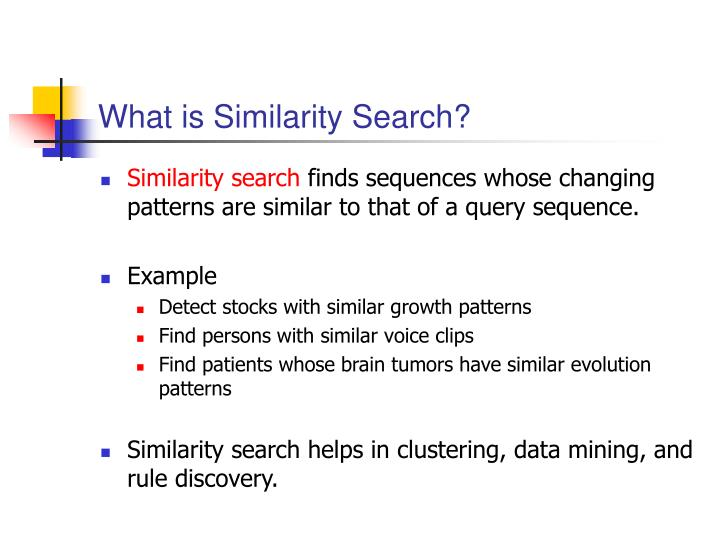 What is Similarity Search?