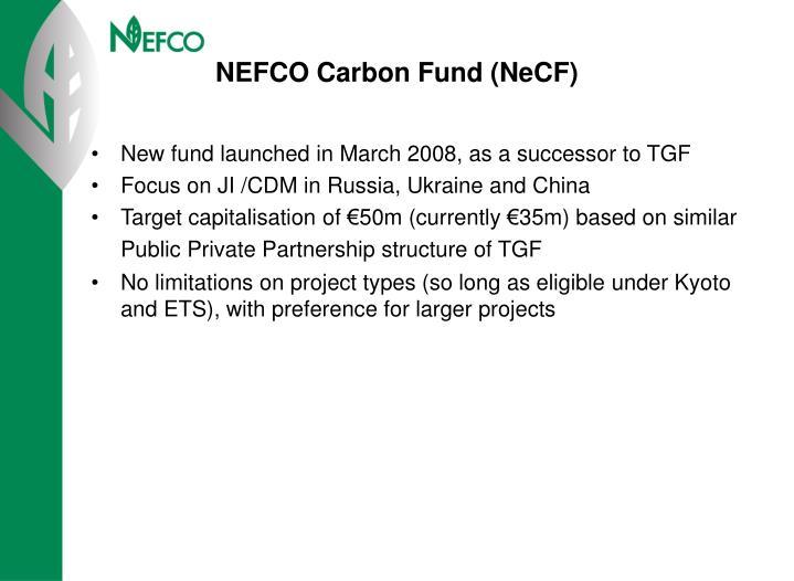 NEFCO Carbon Fund (NeCF)
