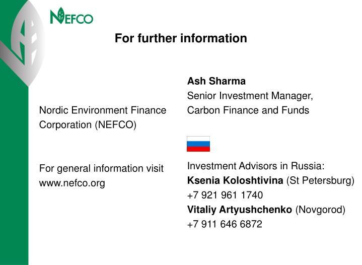 Nordic Environment Finance