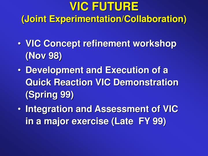 VIC FUTURE