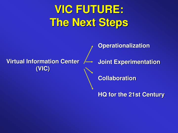 VIC FUTURE: