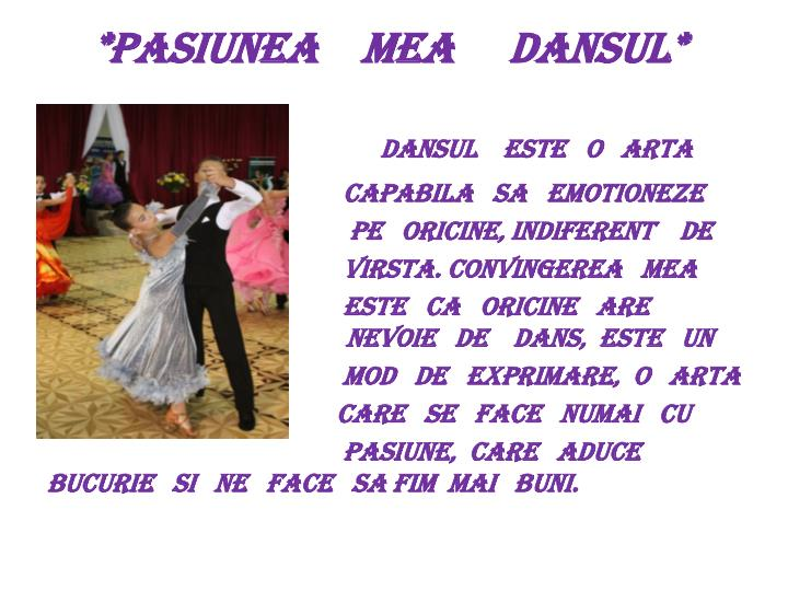 *pasiunea    mea     dansul*