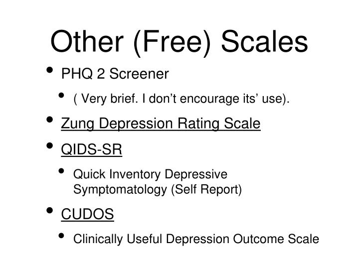 Other (Free) Scales