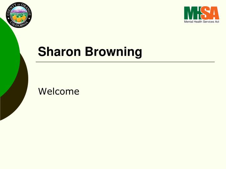 Sharon Browning