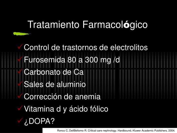 Tratamiento Farmacol