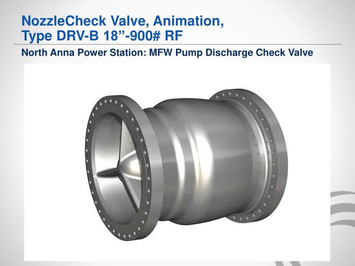 NozzleCheck Valve, Animation,