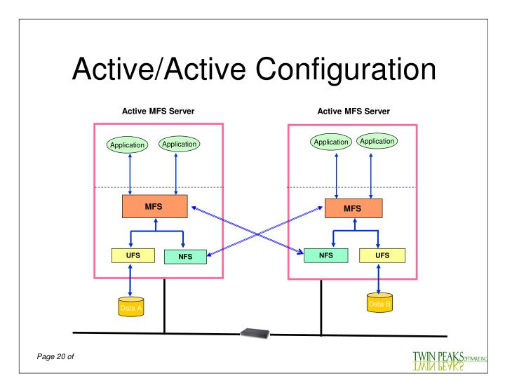 Active/Active Configuration