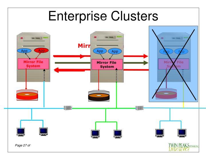 Enterprise Clusters