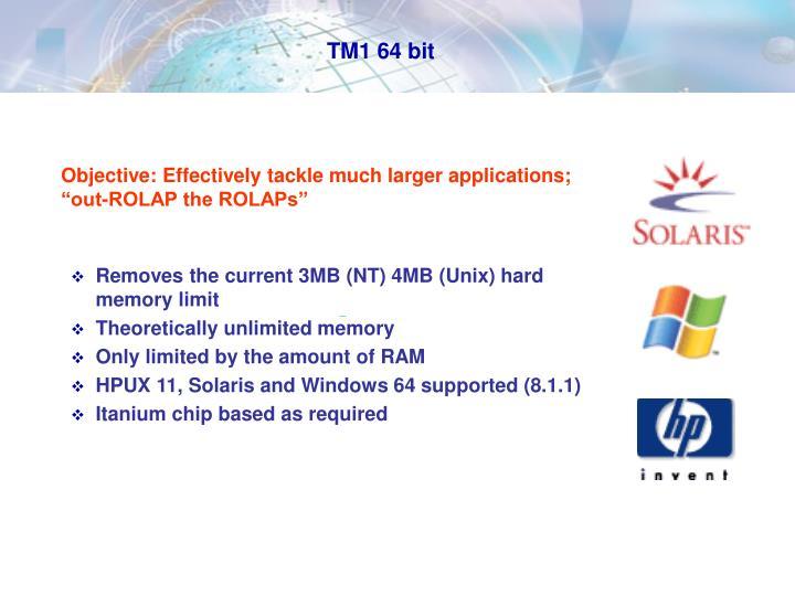 TM1 64 bit