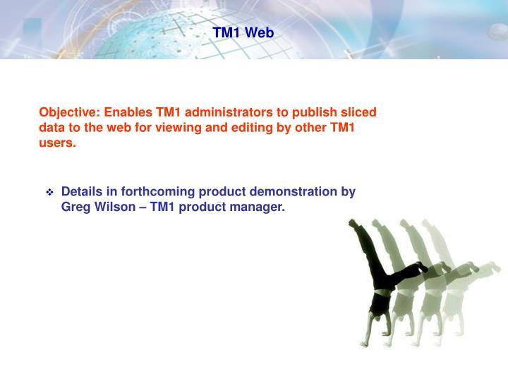 TM1 Web