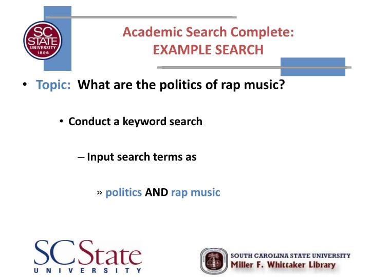 Academic Search Complete: